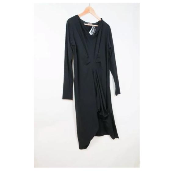 678a3b440bc NWT Metamorphoza black tunic dress L